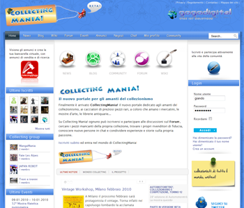 Collecting Mania! - The website for collecting's maniacs
