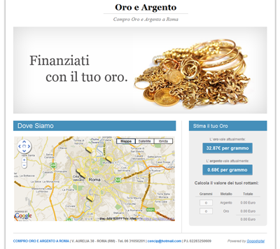 buy gold and silver in Rome