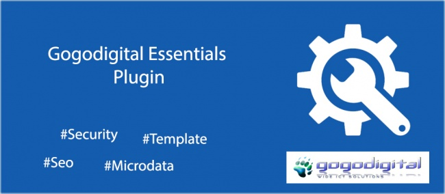Gogodigital Essentials Plugin for Joomla